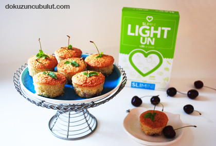 vişneli light muffin